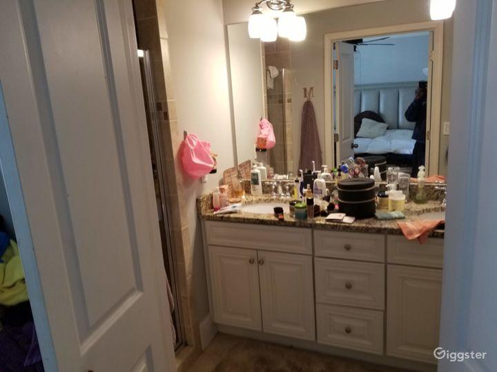 Partial Master Bathroom View
