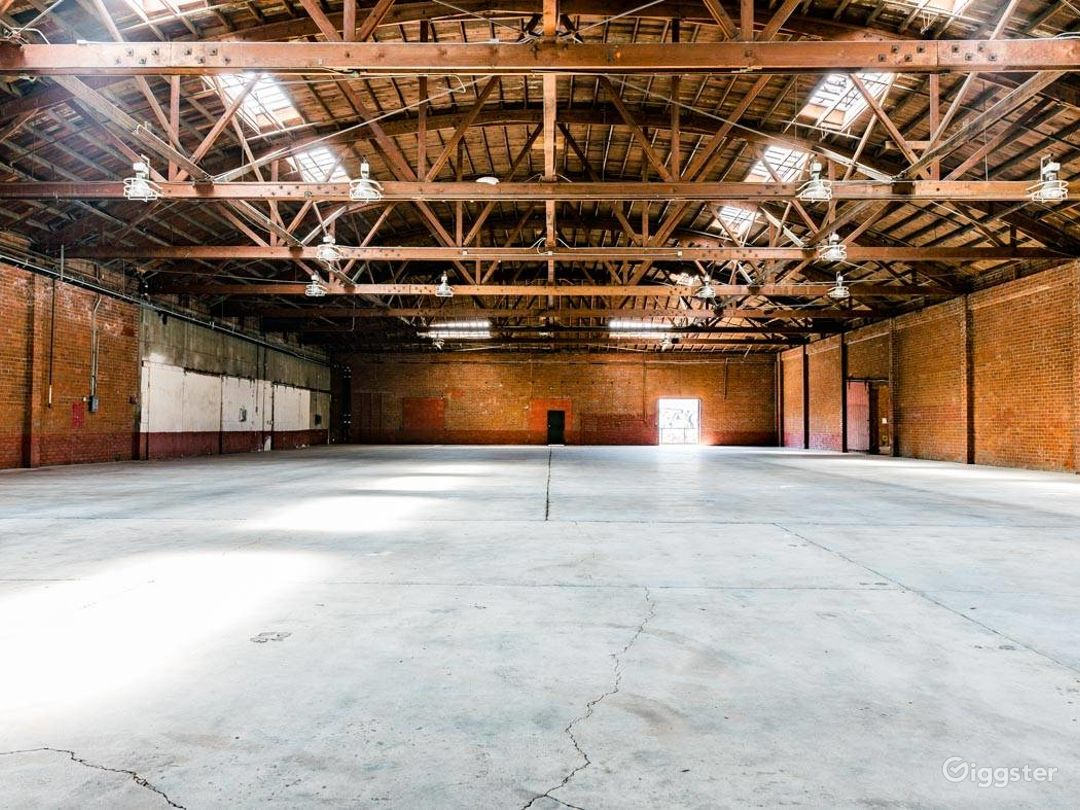 Rustic Brick Warehouse #3 Filming Photo 1