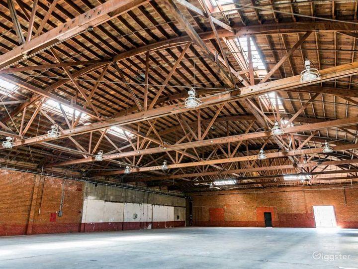 Rustic Brick Warehouse #3 Filming Photo 3