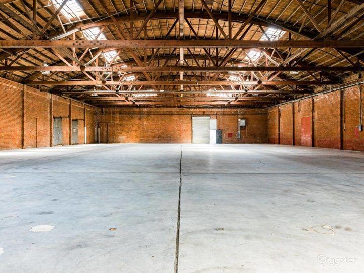 Rustic Brick Warehouse #3 Filming Photo 2
