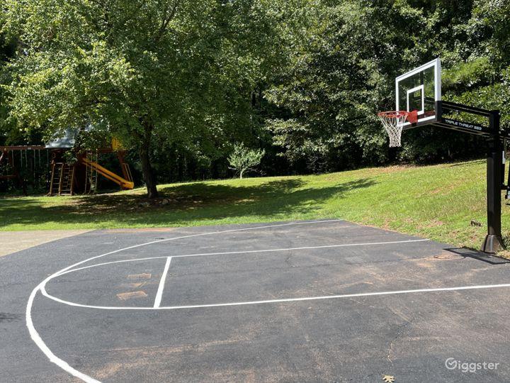 Basketball court/Playground