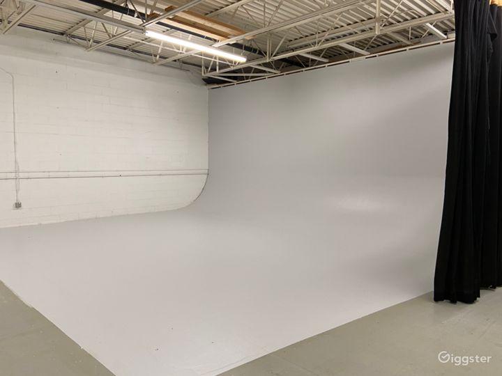 Studio A Cyc Wall