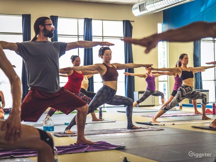 Folsom's Spacious Yoga Studio Photo 4