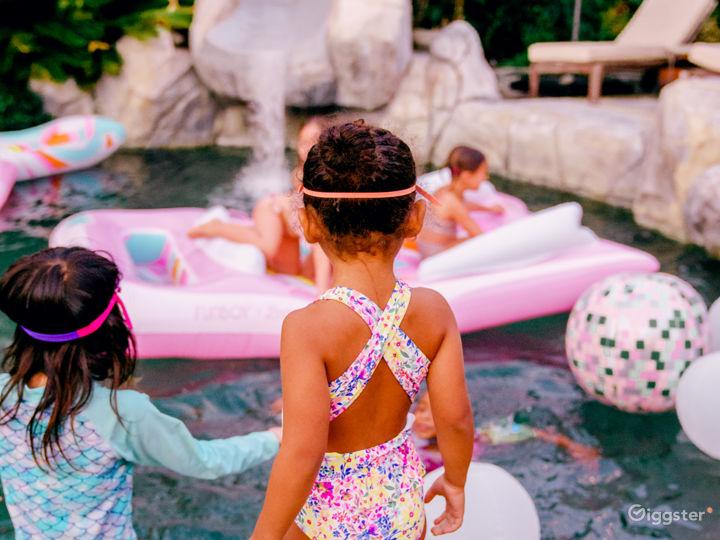 Private, tropical, resort-like yard/pool/slide Photo 5