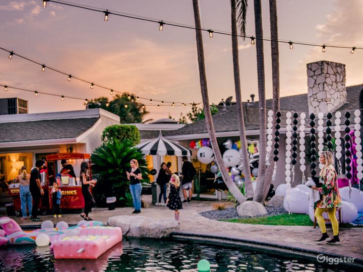 Private, tropical, resort-like yard/pool/slide Photo 3