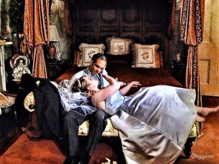 Victorian Bridal Suite in Louisiana