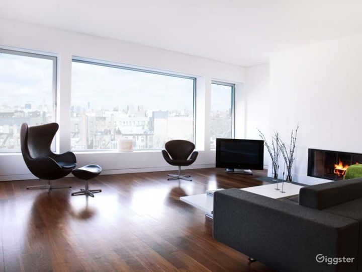Upscale penthouse with rooftop: Location 4202 Photo 3