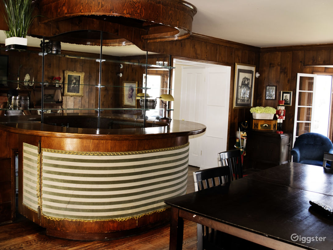 Antique bar room