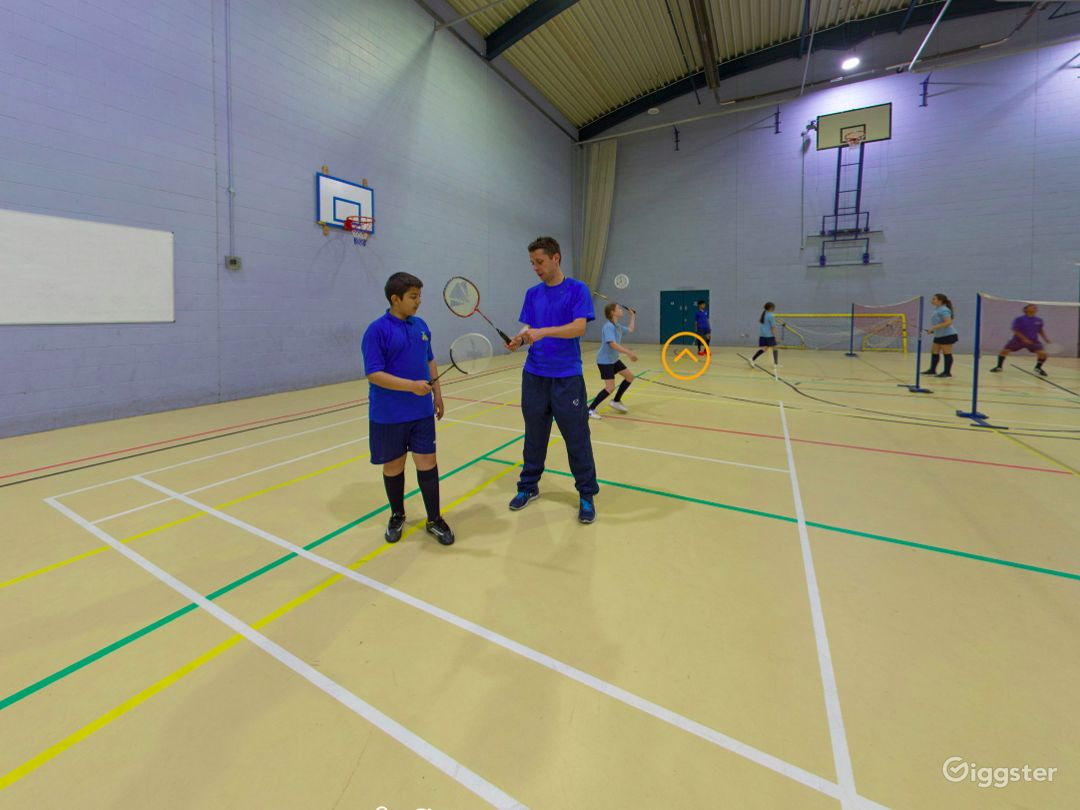 Equipped Sports Hall in London Photo 1