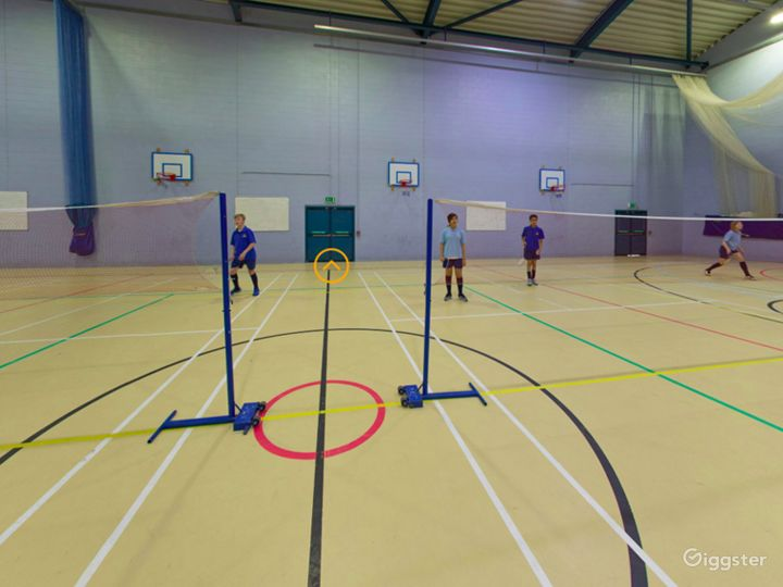 Equipped Sports Hall in London Photo 3