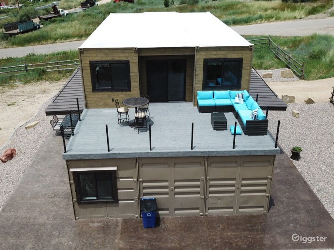 Aerial View of Second Floor Patio