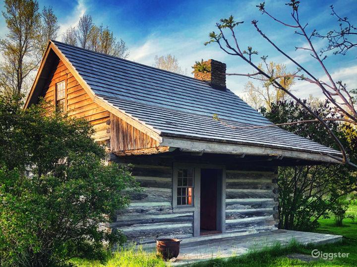 1700's settlers cabin