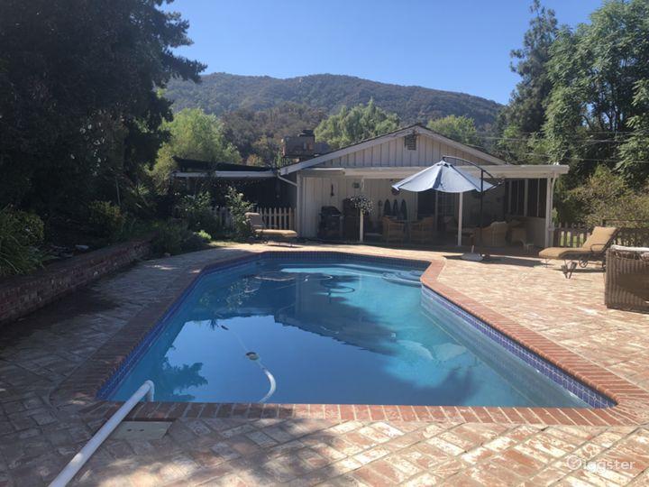 Main house pool