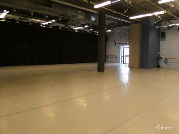 Dance Studio 4 with Light Wood Floor Photo 2