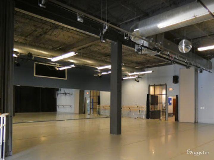 Dance Studio 4 with Light Wood Floor Photo 5