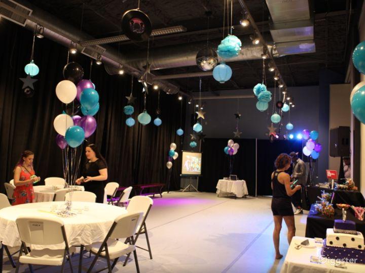 Dance Studio 4 with Light Wood Floor Photo 3