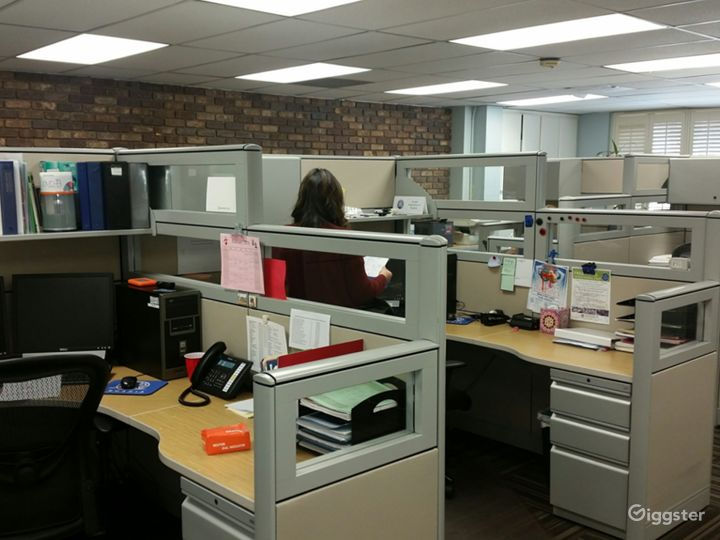 Again with the cubicle area