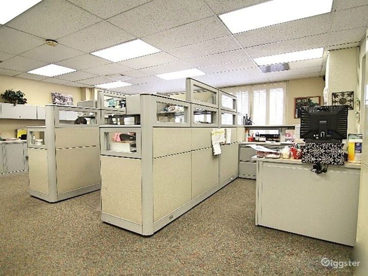 Rare Cubicles!  + More Spaces.  Tons of parking!