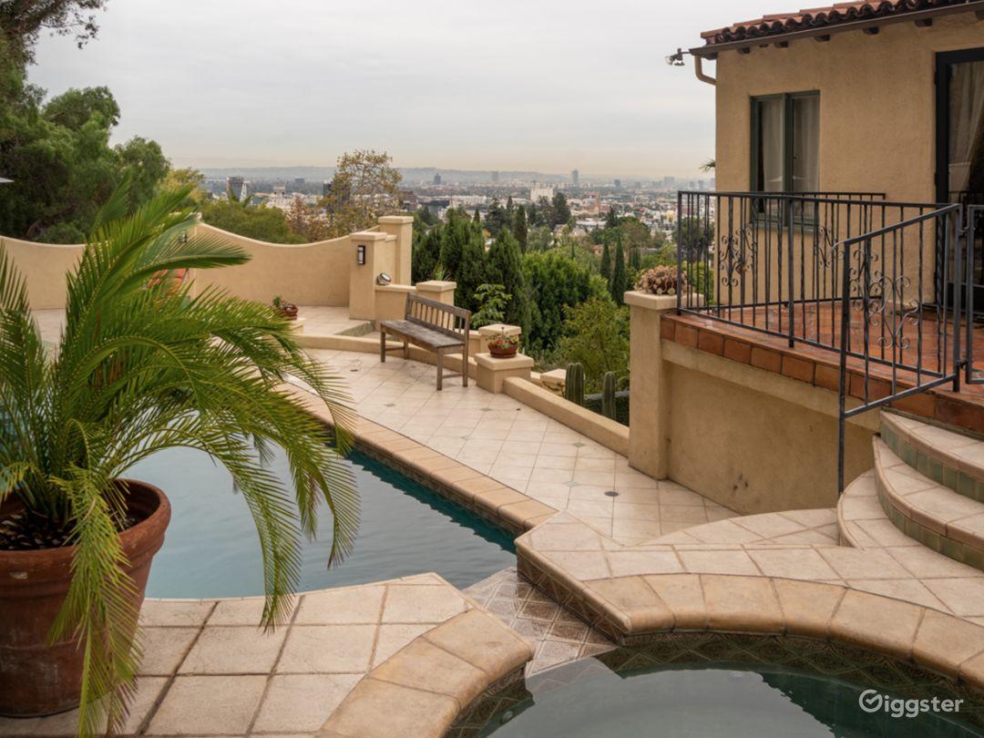 Storybook Hollywood Hills Mediterranean Villa Photo 2