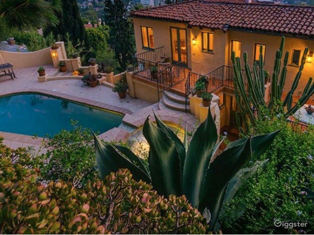 Storybook Hollywood Hills Mediterranean Villa Photo 1