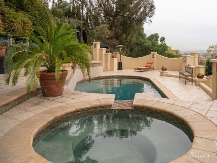 Storybook Hollywood Hills Mediterranean Villa Photo 5