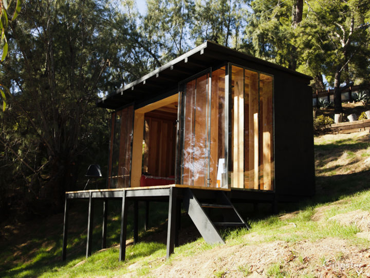 Contemporary nature cabin with mountains view Photo 2