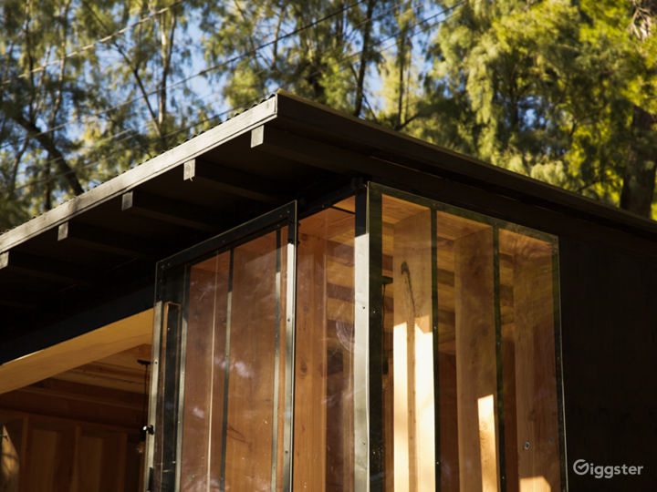 Contemporary nature cabin with mountains view Photo 4