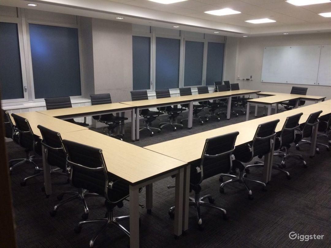 Unique Classroom-Style Meeting Room Photo 1