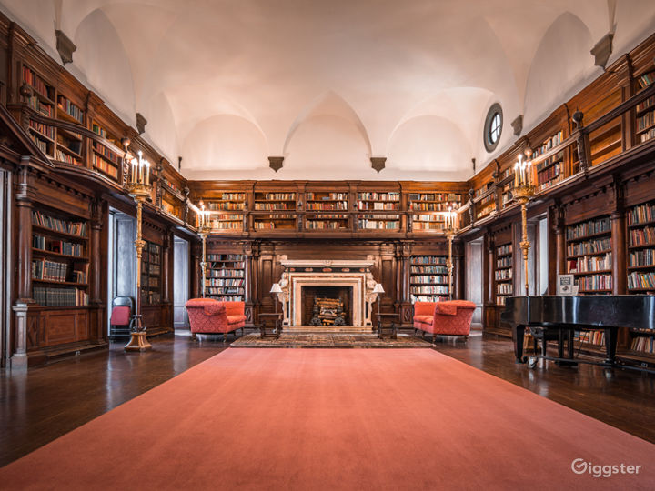 Stately Library in New York Photo 2