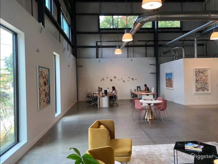 Light Filled Art Gallery / Creative Office Photo 2