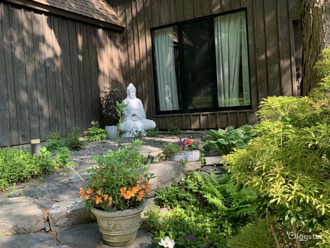 Front of the Buddha Barn