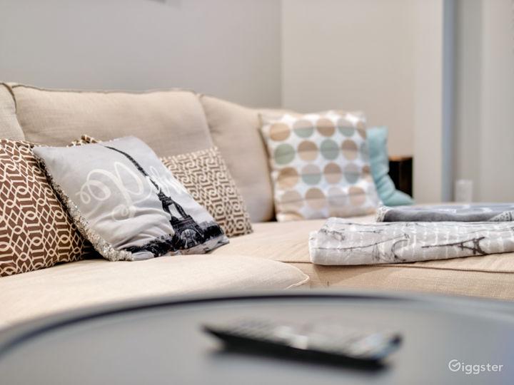Living room's sofa