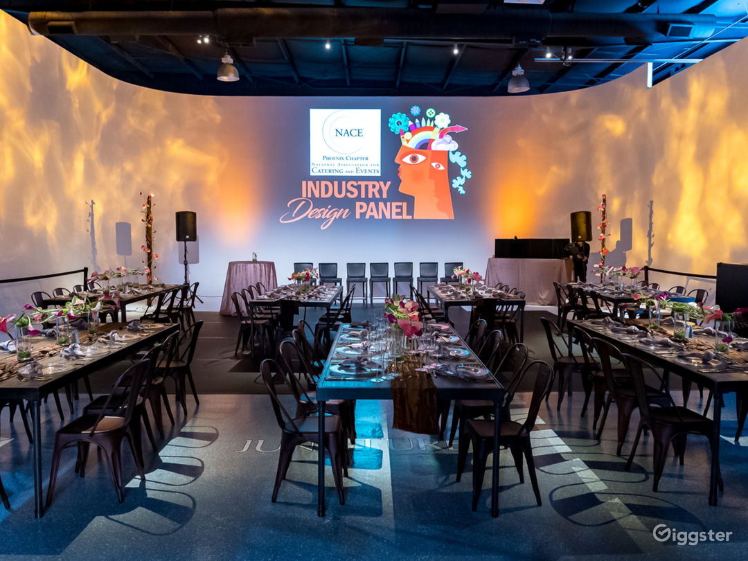 Speak easy-style warehouse private event space Photo 1