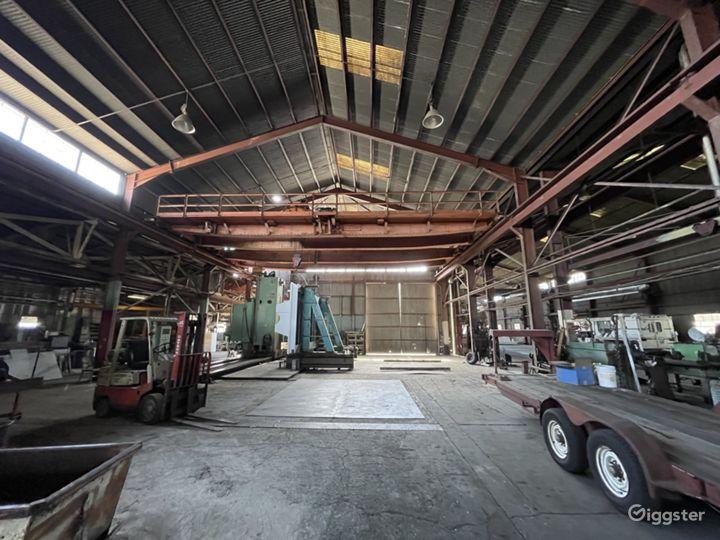 Massive Metal Shop Warehouse Location Photo 5