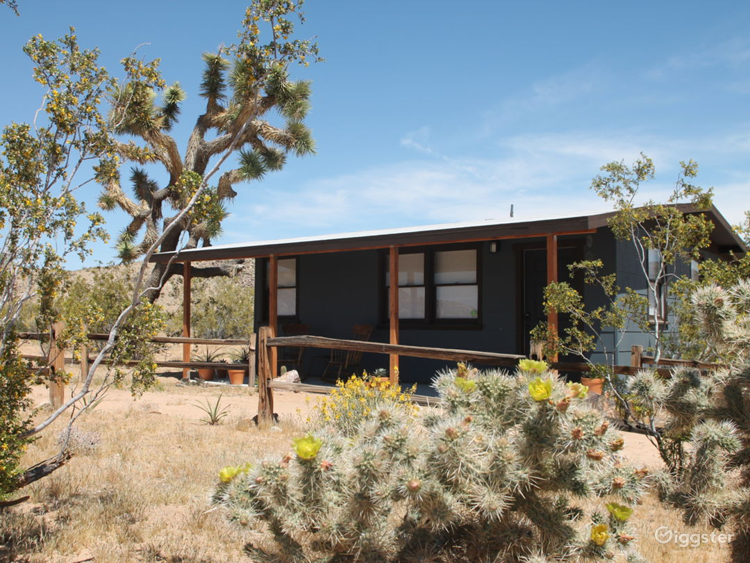 Rustic Modern Joshua Tree Desert Cabin Photo 1