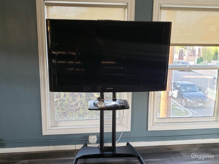 Our AV setup, connectable via HDMI