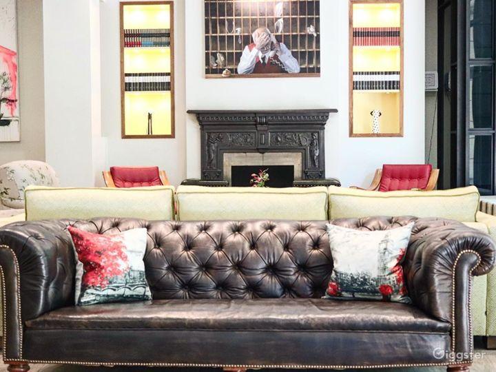Cozy Hotel Lobby Lounge off Sloane Square Photo 3