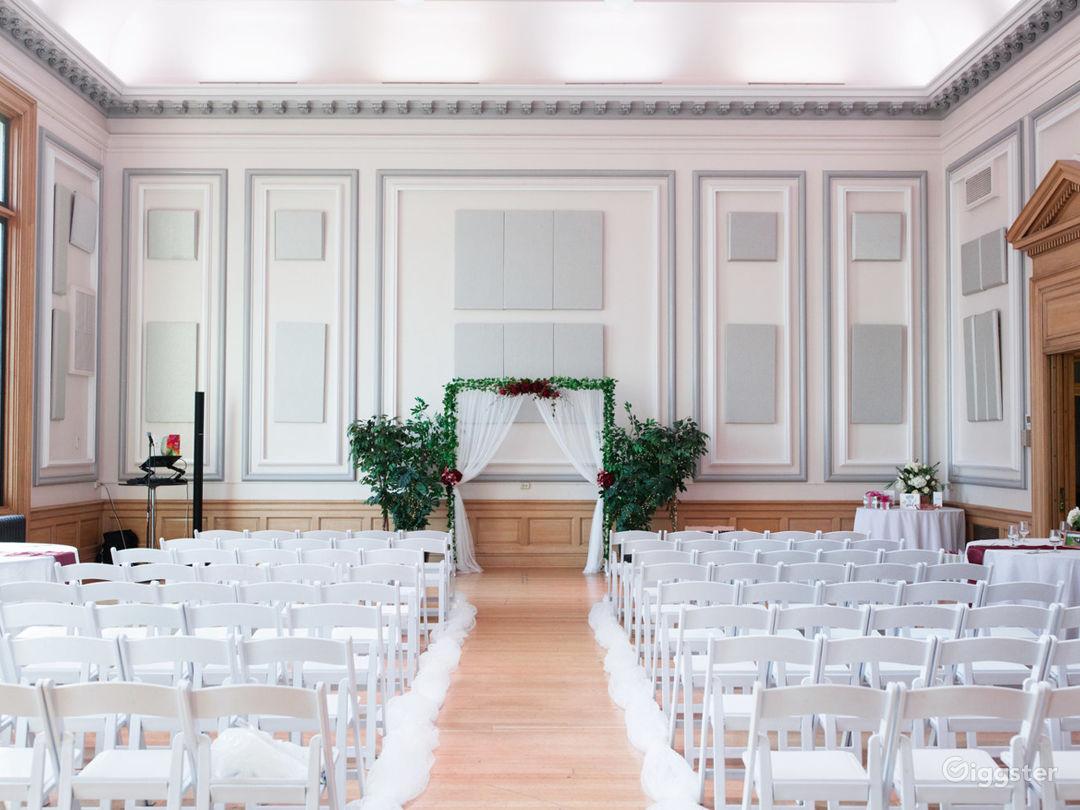 Historic Ballroom with Stunning Views Photo 1