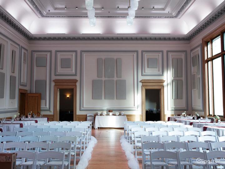 Historic Ballroom with Stunning Views Photo 4