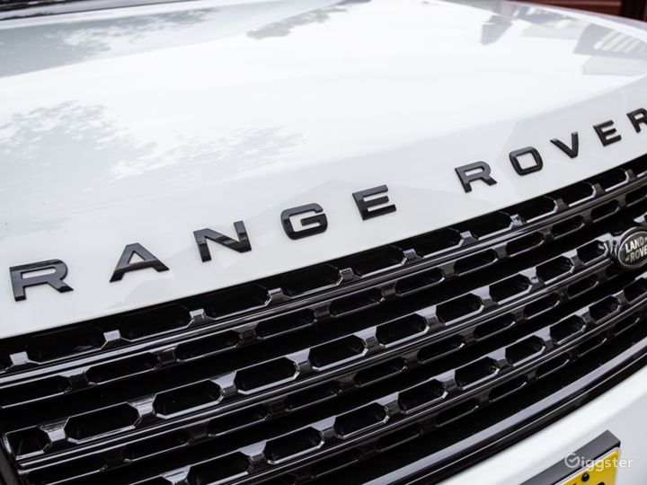 White Range Rover Supercharged Photo 4