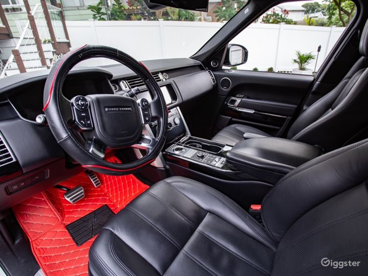 White Range Rover Supercharged Photo 5