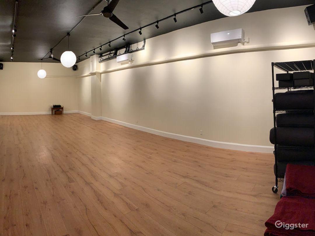 Spacious Yoga studio in Queens Photo 1
