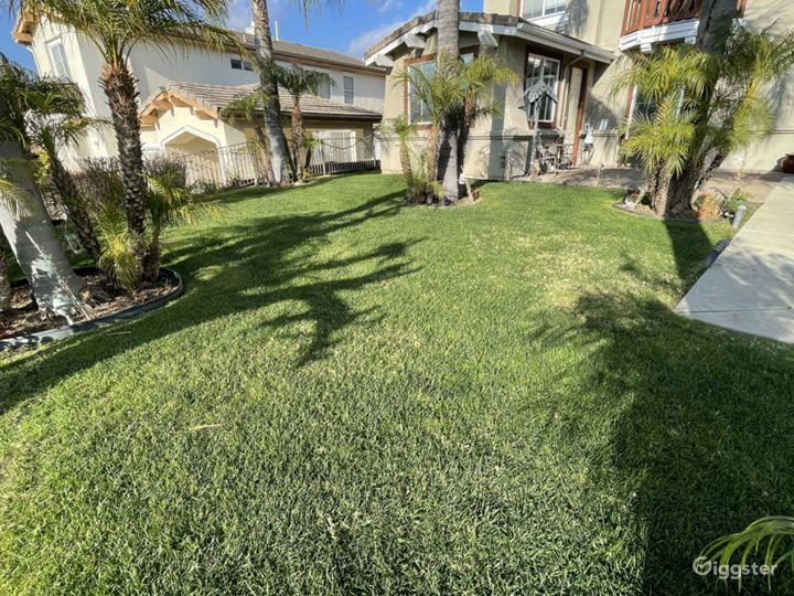 Green spacious grass available