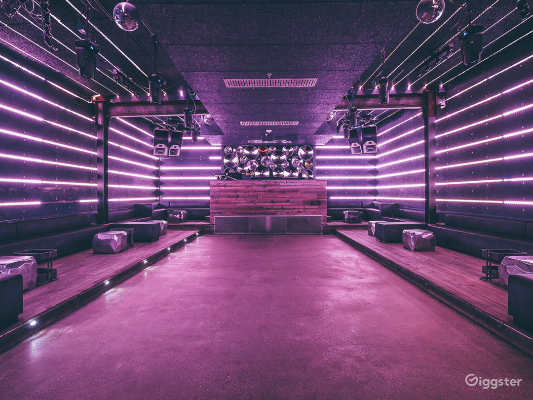 The Club Level features an acoustically treated studio-quality room showcasing a custom Funktion One sound system and a next-generation lighting rig designed to heighten the experience. It provides a balance between dance floor, fully stocked bar and wall-
