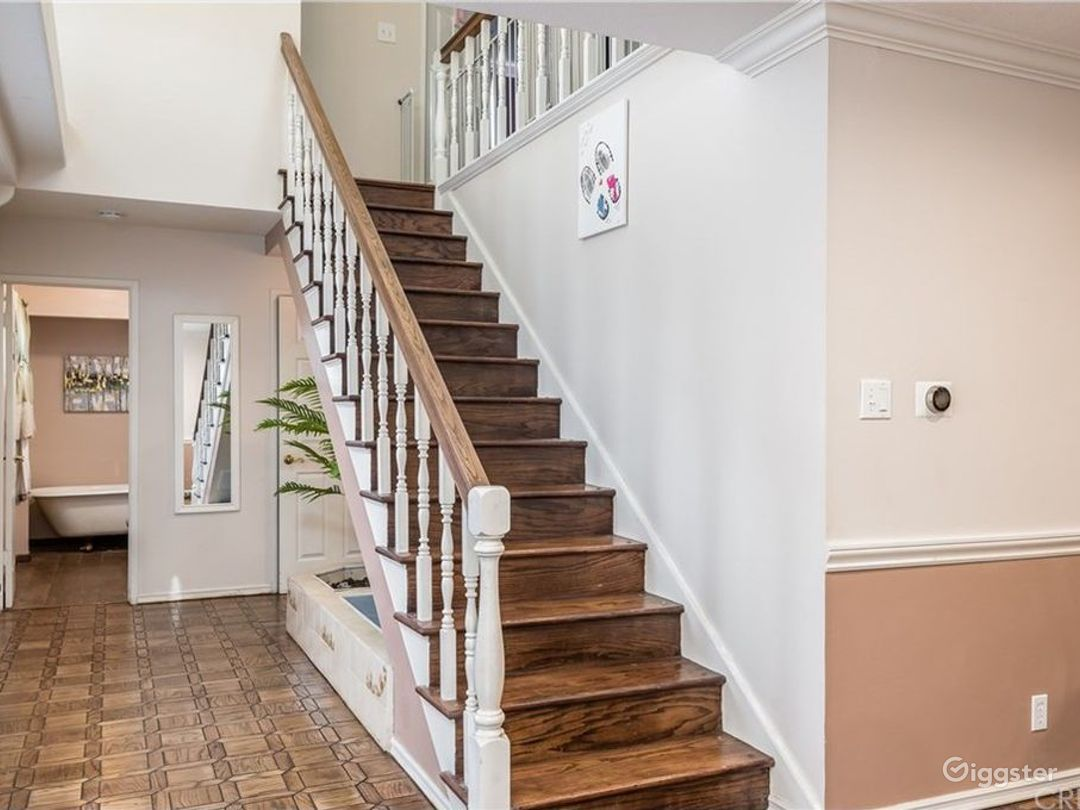 Main stair as you enter home