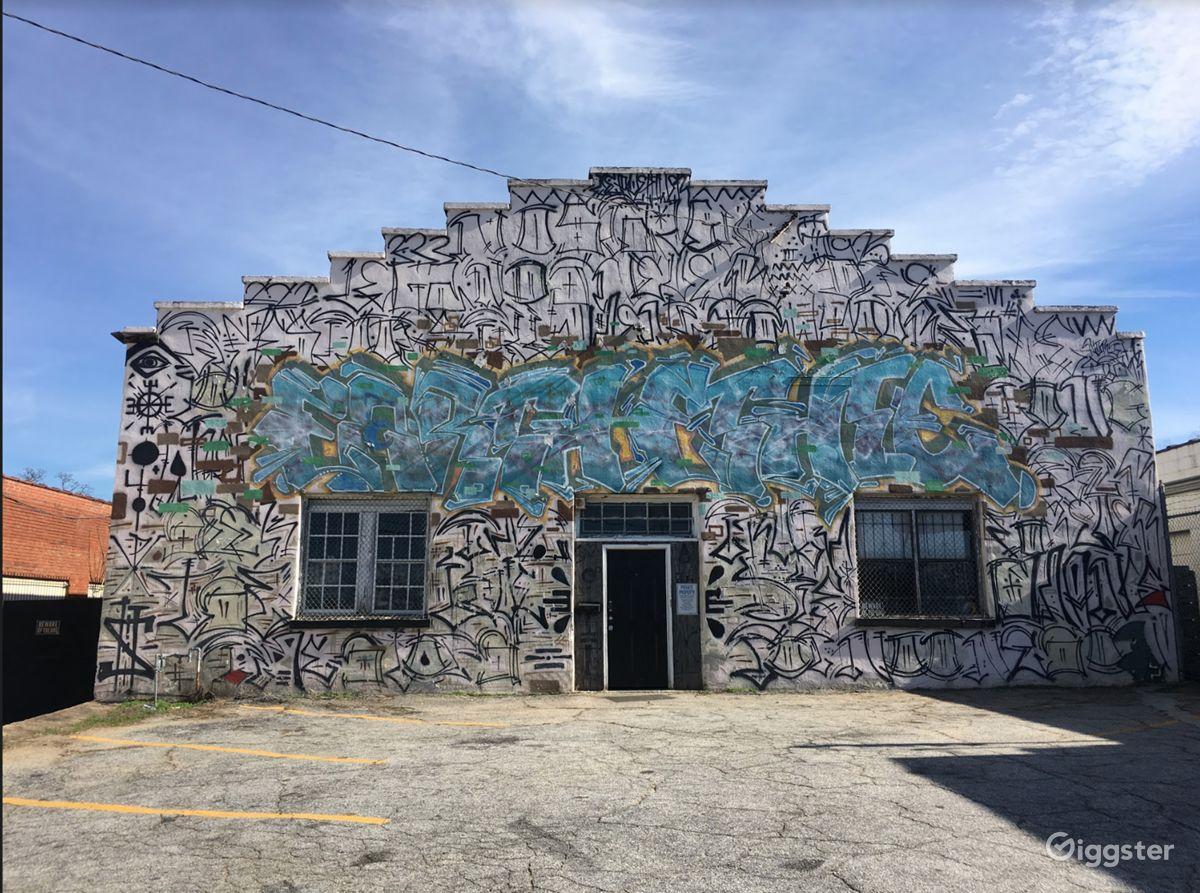 Urban Downtown Warehouse Studio with Open Space Atlanta Rental