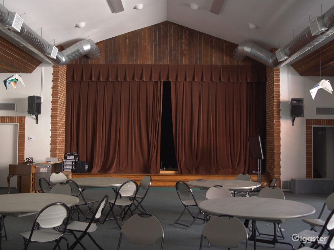 Beautiful, Wood-Paneled Hollywood Event Space Photo 1