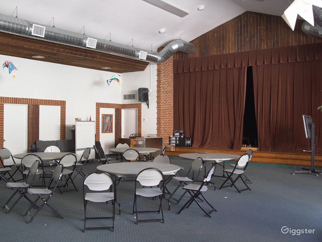Beautiful, Wood-Paneled Hollywood Event Space Photo 3
