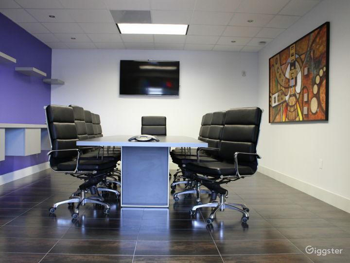 Modern European 12 Seat Board Room