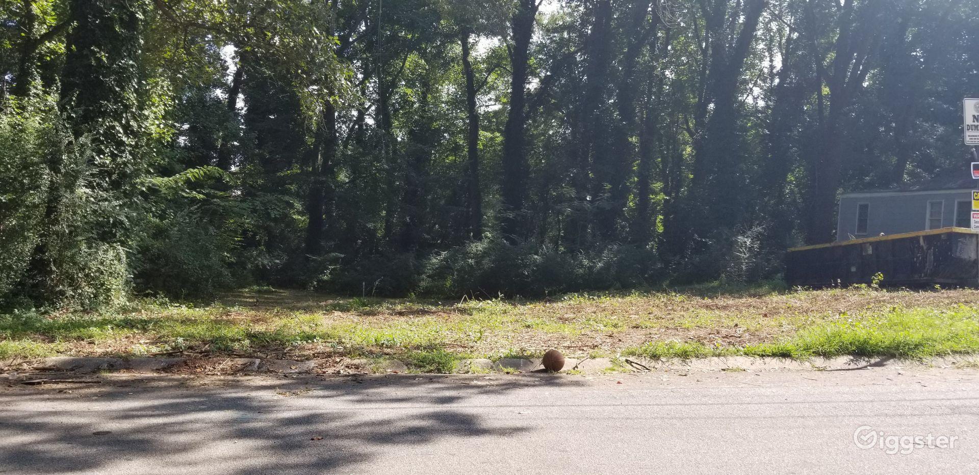 Quarter Acre Empty Urban Land near Forrest Park Atlanta Rental